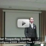 Cold Market Prospecting Training – How To Never Run Out of Prospects